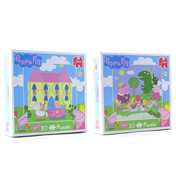 Jumbo Peppa Pigs Mini 20 Piece Picnic Puzzle