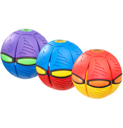 Phlat Ball V3 Fusion Design RED, BLUE & YELLOW