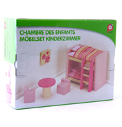 Childrens Bedroom Dolls House Furniture
