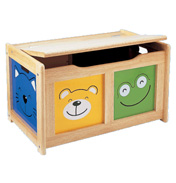 Four Friend Toy Chest