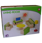 Pintoy Living Room Dolls House Furniture