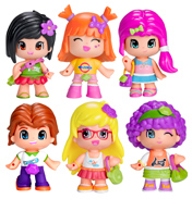 Pinypon Collectable Figures NEON PINK HAIRED GIRL…