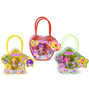 Pinypon Doll with Bag & Pet