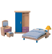 Plan Toys Dolls House Bedroom Neo Set