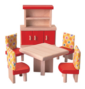 Plan Toys Dolls House Dining Room Neo Set