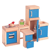Plan Toys Dolls House Kitchen Neo Set