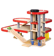 Plan Toys Parking Garage Set