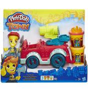 Town Fire Truck Playset