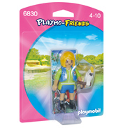 Playmobil Playmo-Friends Animal Trainer With Cockatoo