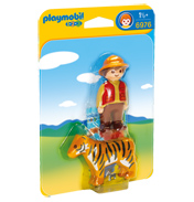 Gamekeeper with Tiger