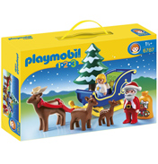 Playmobil 123 Santa Claus with Reindeer Sledge