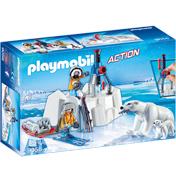 Artic Explorers with Polar Bears