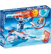 Action Icebot with Disc Shooter