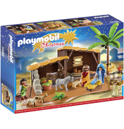 Playmobil Christmas Nativity Stable With Manger
