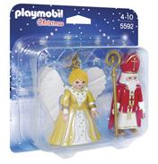 St. Nicholas & Christmas Angel