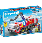 Airport Fire Engine with Lights & Sound