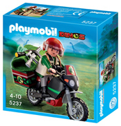 Playmobil Dino's Explorer with Motorcycle 5237