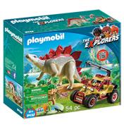 Explorer Vehicle with Stegosaurus