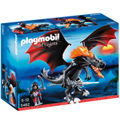 Giant Fighting Dragon with Fire LED's