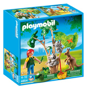 Playmobil Zoo Koala Bears with Kangaroo