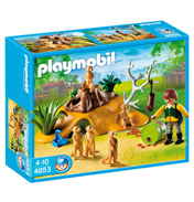Playmobil Zoo Meerkat Family