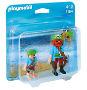 Pirate & Child Pirate Double Figure Pack