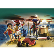 Playmobil Pirates Commander with Armoury