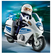 Playmobil City Action Police Motorcycle