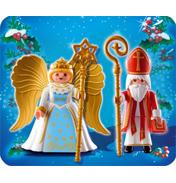 Saint Nicholas & Angel
