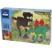 Plus Plus Dinosaurs Mini Basic 480pc Building Set