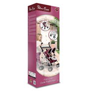 Silver Cross Pop Duo Dolls Pushchair Aubergine