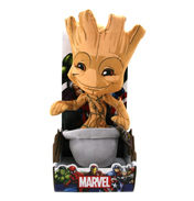 "Posh Paws Marvel 10"" Baby Groot Plush"