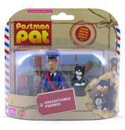 Postman Pat Collectable Figures- Pat & Jess