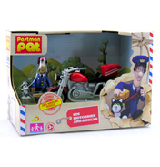 Postman Pat Vehicles- SDS Motorbike with Sidecar
