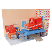Postman Pat Ted Glens Workshop with Vehicle