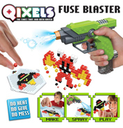 Qixels Turbospray Fuse Blaster Set