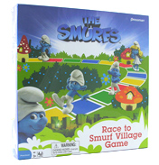 Pressman The Smurfs Race to Smurf Village Game