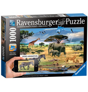 Animals of Africa 1000 Piece Puzzle