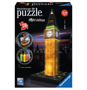 Big Ben Night Edition 3D Puzzle (216 Piece)