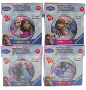 Disney Frozen 3D 54 Piece Puzzle Ball