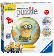 Minion 3D Puzzleball (72 Piece)