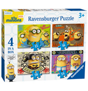 Ravensburger Minions 4 Jigsaw Puzzles In a Box
