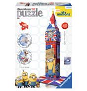Minions Big Ben 3D Puzzle (216 Piece)