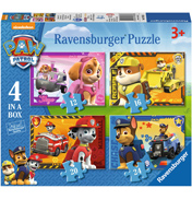 Ravensburger Paw Patrol 4 in a Box Jigsaw Puzzle