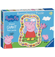 Peppa Pig 24 Piece Shaped Giant Floor Puzzle