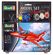 BAe Hawk T.1 Red Arrows Model Set (Level 3) (Scale 1:72)