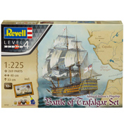 Admiral Nelson's Flagship, Battle of Trafalgar Gift Set (Level 4) (Scale 1:225)