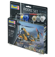 Bell AH-1G Cobra Model Set (Level 3) (Scale 1:100)