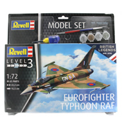British Legends: Eurofighter Typhoon Model Set (Level 3) (Scale 1:72)