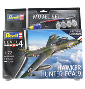 British Legends: Hawker Hunter FGA.9 Model Set (Level 4) (Scale 1:72)